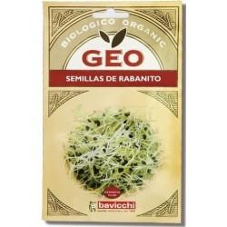 SEMILLAS RABANITO PARA GERMINAR 30 GR GEO
