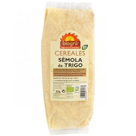 SEMOLA DE TRIGO 500GR BIOGRÁ
