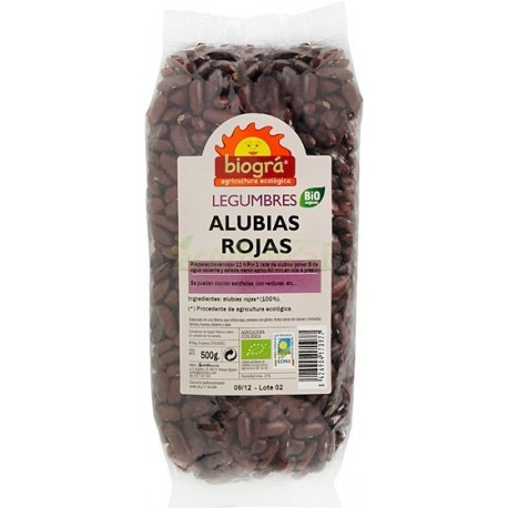 ALUBIAS ROJAS 500GR. BIOGRÁ