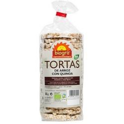 TORTAS DE ARROZ CON QUINOA 130GR. BIOGRÁ
