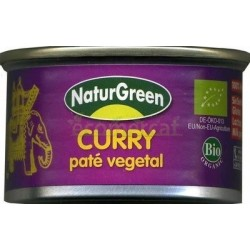 PATÉ DE CURRY 125GR. NATURGREEN