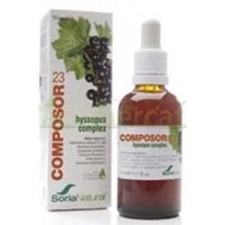 COMPOSOR 23 - HYSSOPUS  SORIA NATURAL 50ML