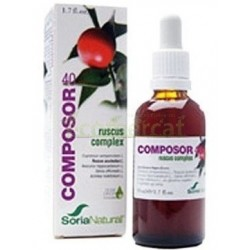 COMPOSOR 40 - RUSCUS COMPLEX 50ML. SORIA NATURAL