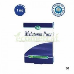 MELATONIN PURA 30 TABLETAS 1mg ESI