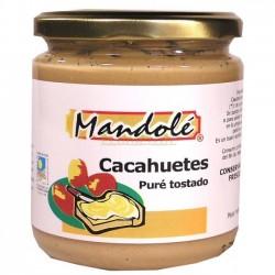 PURÉ DE CACAHUETES TOSTADO325G MANDOLÉ