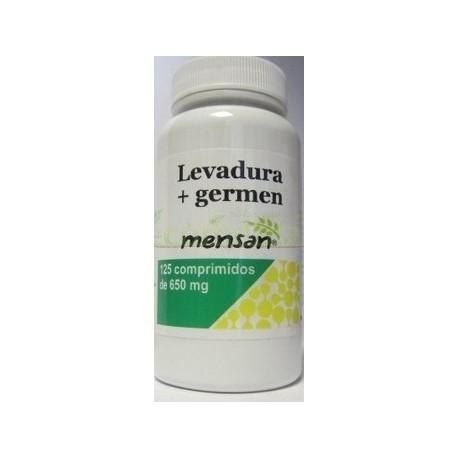 LEVADURA + GERMEN 600MG 125 COMP. MENSAN