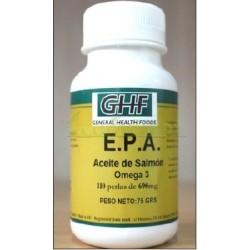 ACEITE DE SALMON OMEGA 3 E.P.A. 110 PERLAS