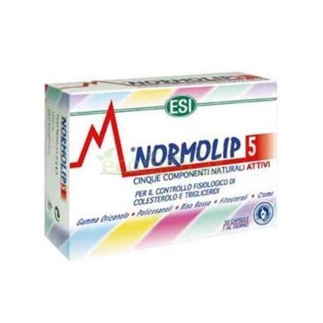NORMOLIP 5 30 CAP  ESI