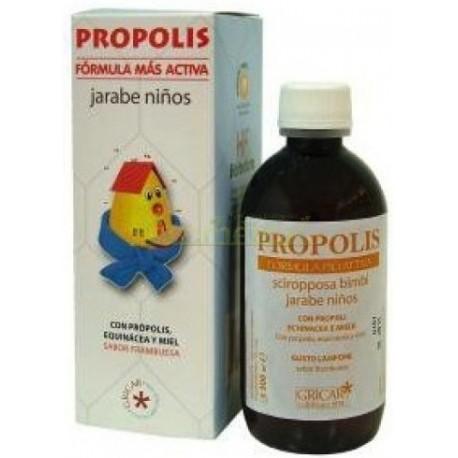 PROPOLIS JARABE NIÑOS, 200 ML. GRICAR