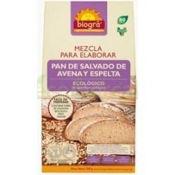 MEZCLA DE PAN DE SALVADO DE AVENA Y ESPELTA. 509GR
