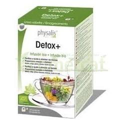 DETOX+ INFUSIÓN 20  FILTROS. PHYSALIS