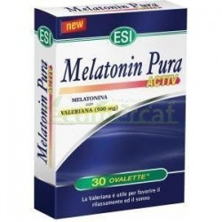 MELATONIN PURA ACTIV 30 TABLETAS 25.5GR. ESI