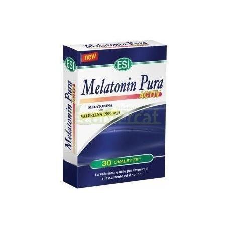 MELATONIN PURA ACTIV 30 TABLETAS 25.5GR. ESI