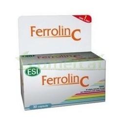 FERROLIN C, 30 CÁPSULAS 15GR. ESI