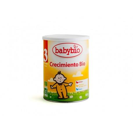 LECHE DE CRECIMIENTO Nº3 900GR  BABYBIO