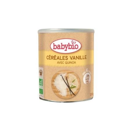PAPILLA CEREALES VAINILLA +6M 220GR BABYBIO