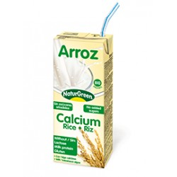 BEBIDA DE ARROZ CALCIO 20CL NATURGREEN