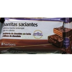 BARRITAS SACIANTES DE CHOCOLATE 35GR. HERBORA
