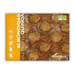 ALBONDIGAS QUINOA CON SALSA TOMATE 350G SORIA