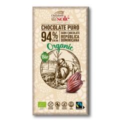 CHOCOLATE NEGRO 94% 100gr SOLÉ