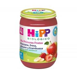 POTITO MANZANA FRESA PLATANO FRAMBUESA 190G HIPP