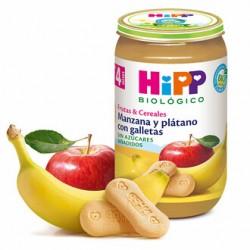 POTITO MANZANA PLATANO CON GALLETAS 190G HIPP