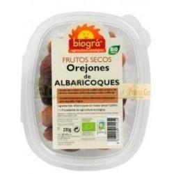 OREJONES DE ALBARICOQUES 230GR. BIOGRÁ