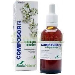 COMPOSOR 09 - CRATAEGUS COMPLEX 50ML. SORIA NATURAL