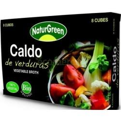 CALDO DE VERDURAS 8 CUBOS 84GR. NATURGREEN